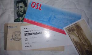 Cuba QSL card