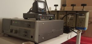 Image of UHF repeater station using a Kenwood TKR-820.